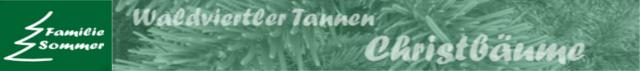 Waldviertler Tannen Familie Sommer